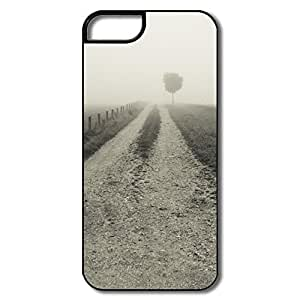 Geek Empty Country Road IPhone 5/5s IPhone 5 5s Case For Him wangjiang maoyi