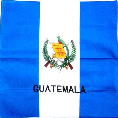 Guatemala Flag Bandana - Single