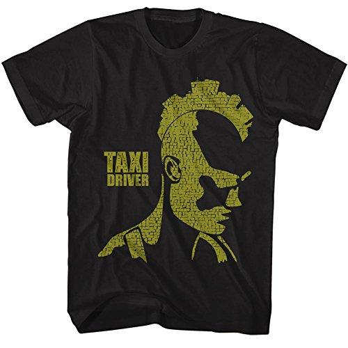 American Classics Taxi Driver Movies City Mohawk Adult Short Sleeve T Shirt ()