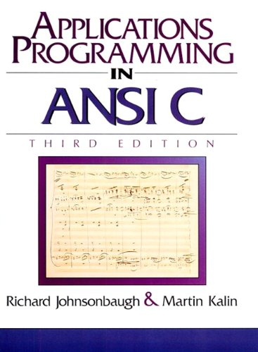 the ansi c programming language - 4