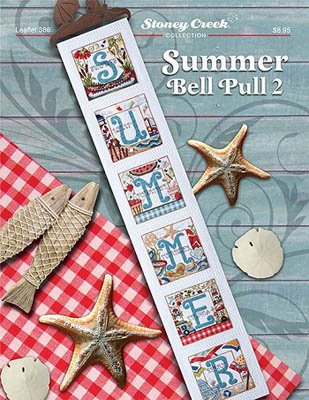 Summer Bell Pull 2 Cross Stitch Chart and Free Embellishment