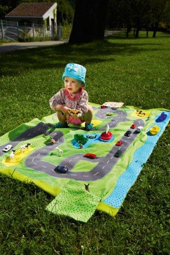 Spielteppich Nähen komm mit raus outdoor spielsachen zum selbernähen amazon de