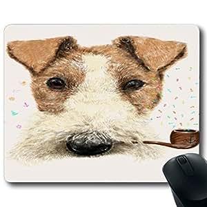 "Animal Art Illustration Customized Rectangle Non-Slip Rubber Mousepad Gaming Mouse Pad 9""X7.4"""