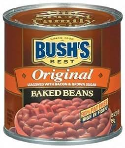 Bush's Best Original Baked Beans 16.5 oz. (Pack of 6)