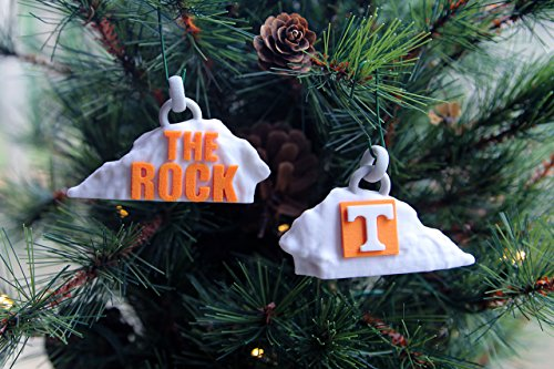 University Of Tennessee  Ut  3 D Sandstone Rock Ornament  Ncaa