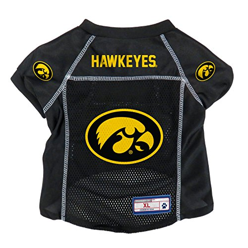 NCAA Iowa Hawkeyes Pet Jersey, XL