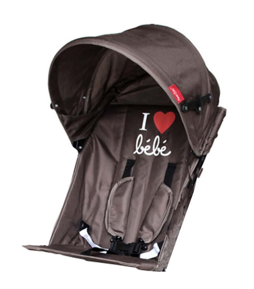 Baby Stroller Sunshade Maker Infant Stroller Canopy Cover [BROWN]