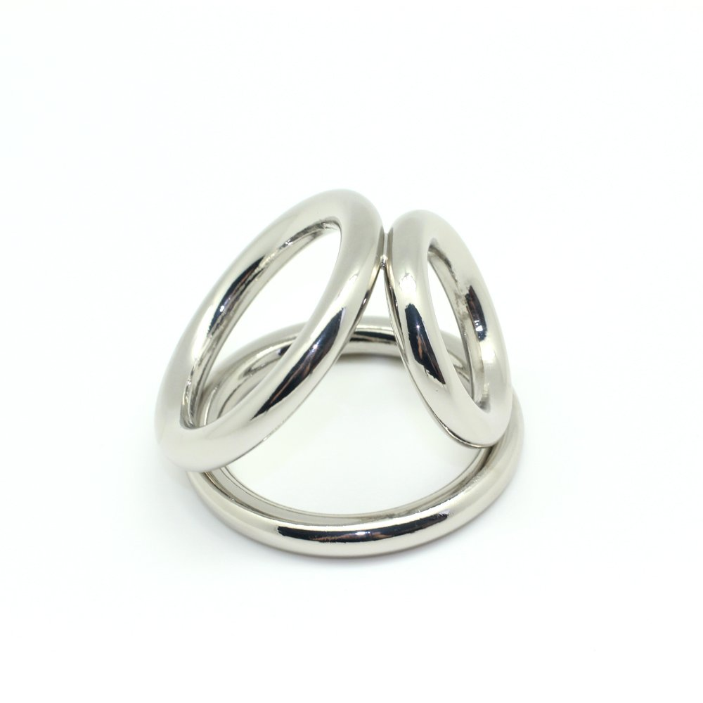 Amazon.com: Fertish Cock Ring for Men Silver Metal Cock Cage Penis Ring:  Health & Personal Care