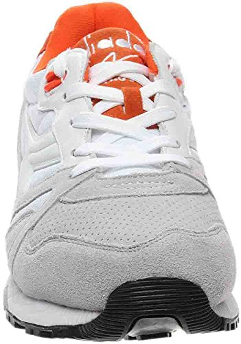 Diadora Mens Diadora N9000 Sneakers Double L Bianco / Blu Vapor