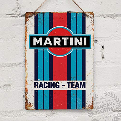 - Martini Racing Replica Vintage Tin Sign Metal Sign TIN Sign 7.8X11.8 INCH