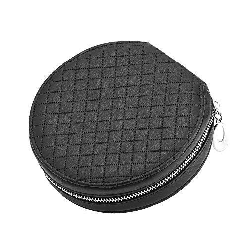 eBoot 20 Kapazität CD/ DVD Wallet Schutztasche Hochleistungs CD Hülle Aufbewahrungs Tasche (PU-Leder)