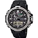 Watch Casio Pro Trek Prw-6000-1er Men´s Black