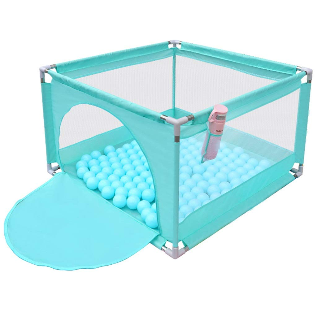 Playpen Tent for Kids Ball Pit - 4-Sided Ball Pit for Kids Toddlers and Baby - Fill with Plastic Balls (Balls Not Included) or Use as an Indoor/Outdoor Play Tent Green