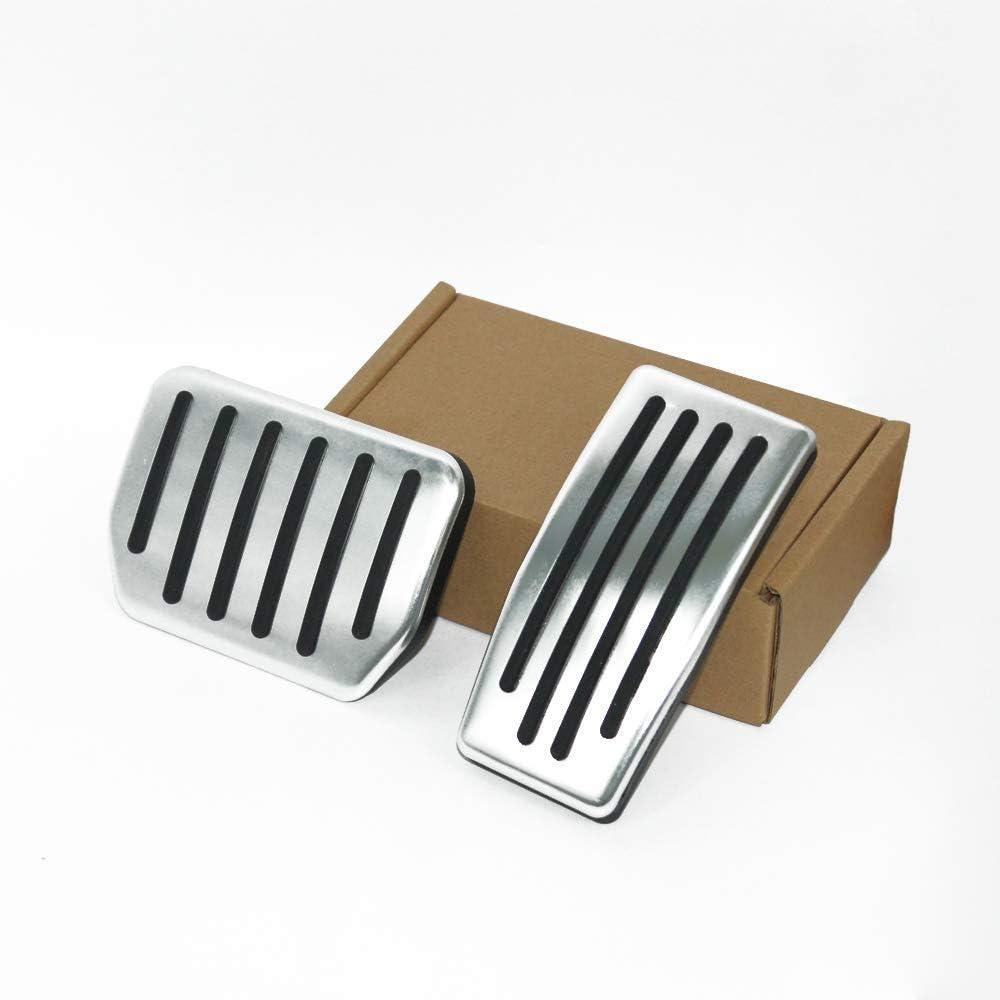 Car Brake Pedals Pad Set for Tesla Model 3 Non-Slip Performance Foot Pedal Pads Covers Model 3 Brake /& Accelerator Pedal Anti-Slip Aluminum Accelerator Foot Pedals Cover for Model 3