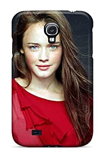linJUN FENGNew Arrival Case Cover With EqQxFbp8444BfSOf Design For Galaxy S4- Alexis Bledel With Red Dress