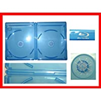 12.5 mm Viva Elite Blu-Ray Double Case Box Standard Size Hold 2 Discs (25 Pcs a Pack Sold)