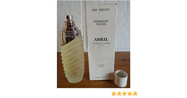 Amazon.com : Abril by Victorio And Lucchino for Women. 3.4 Oz Eau De Toilette Spray Tester : Beauty