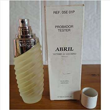 Abril by Victorio And Lucchino for Women. 3.4 Oz Eau De Toilette Spray Tester