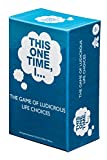 THIS ONE TIME, I… THE GAME OF LUDICROUS LIFE CHOICES (PARTY EDITION) - Best Adult Icebreaker Card Game for Men & Women - Fun, Popular Pregame, Drinking & Party Game - Optional Rules - Ages 17+