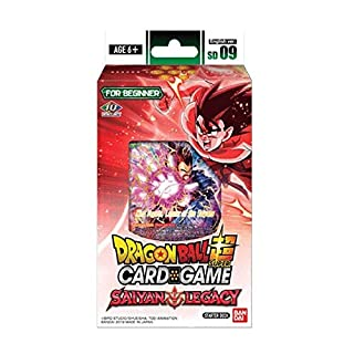 Dragon Ball Super TCG Saiyan Legacy Series 7 Assault of the Saiyans Starter Deck 09