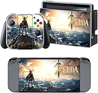 The Legend of Zelda: Breath of the Wild - Pegatina Nintendo Switch ...