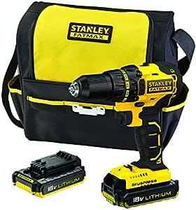 STANLEY FATMAXFMC608D2S-XE18V Brushless Drill Driver Kit
