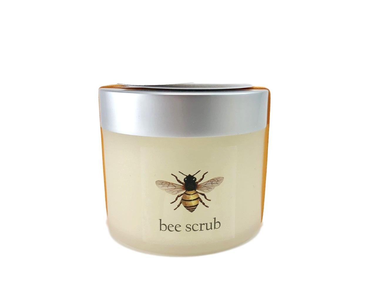 Beeline All Natural Vegetable Sugar and Honey Facial Bee Scrub Exfoliates and Moisturizes