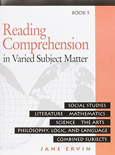 Reading Comprehesion: in Varied Subject Matter, Book 5