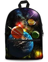 HUGS IDEA Stylish Dog Travel School Laptop Backpack Bag