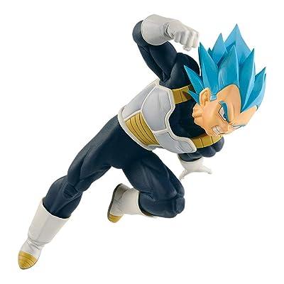 Banpresto 38907/ 10201 Dragon Ball Super Ultimate Soldiers - The Movie III - S.Blue Vegeta Figure: Toys & Games