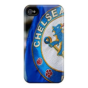 THYde Hot Tpu Covers Cases For Iphone/ 4/4s Cases Covers Skin - Chelsea Fc Logo ending