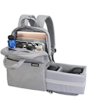 CADeN Camera Bag Laptop Backpack 14 Inch for Women Men Waterproof Anti Theft Photography & Casual Travel Bag with USB Charging Port for DSLR Canon Nikon Sony DJI Drone Mavic Pro/Air iPad