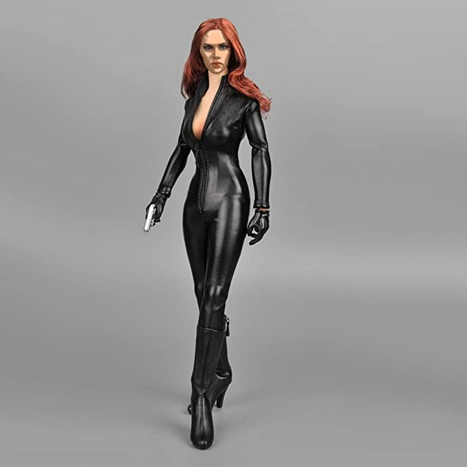 Amazon.com: Flameer 1/6 Women Jumpsuit&Boots for 12 Hot ...