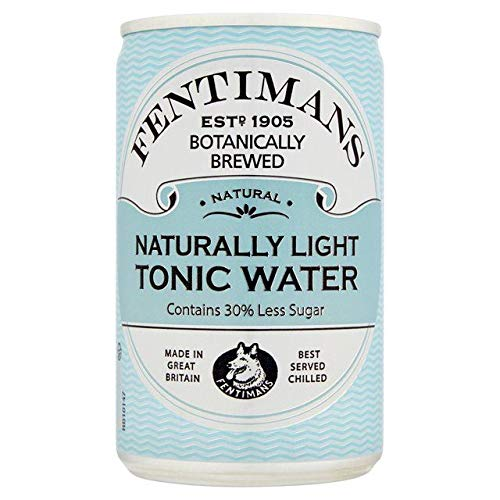 - Fentimans Naturally Light Tonic Water - 150ml (5.27 fl oz)