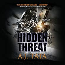 Hidden Threat: Threat Series, Book 3 Audiobook by A. J. Tata Narrated by Alexander Cendese