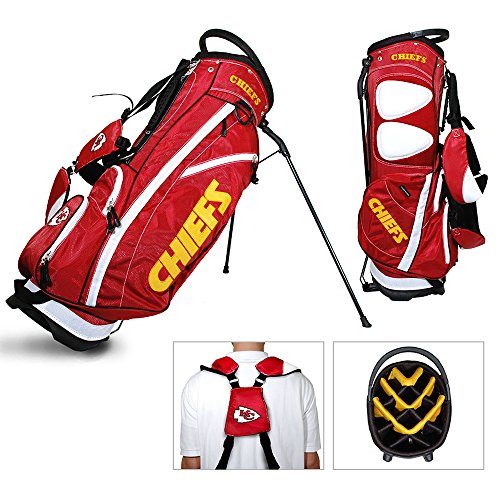 NFL Fairway Stand Bag NFL Team: Kansas City Chiefs by Team Golf (Image #1)