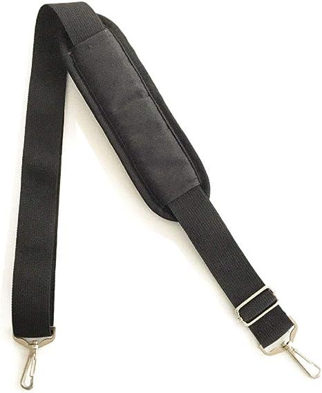Universal Ersatz Schultergurt Strap Verstellbarer Gürtel Mit Metall Karabinerhaken Für Gepäck Seesäcke Computer Taschen Laptop Tasche Schwarz Koffer Rucksäcke Taschen