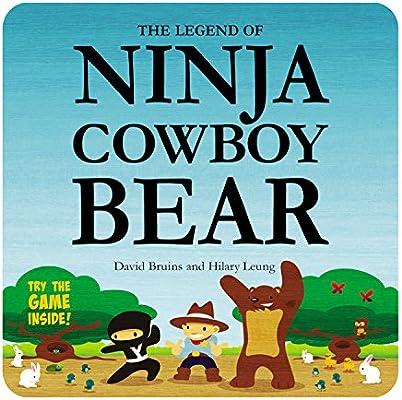 The Legend of Ninja Cowboy Bear: Amazon.es: David Bruins ...