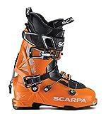 Dalbello Sports Panterra 130 I.D. Ski Boot Orange/Black, 28.5