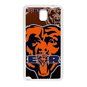 Custom Baloncesto Team Chicago Bears Logo Skin Cover for Samsung Galaxy Note 3