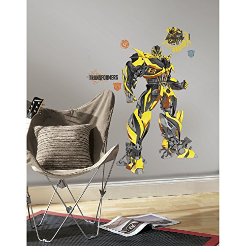 RoomMates RMK2526GM Wall Decal, (Transformers Wall Stickers)