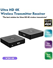measy W2H 4K 60GHz Wireless HDMI Transmitter Extender Receiver zero latency transmission Supports Full HD 4K@30Hz 3D - Upto 30M/100FT