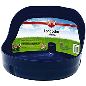 Kaytee Long John Litter Pan, Colors Vary