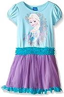 Disney Girls' Aqua Frozen Tutu Dress