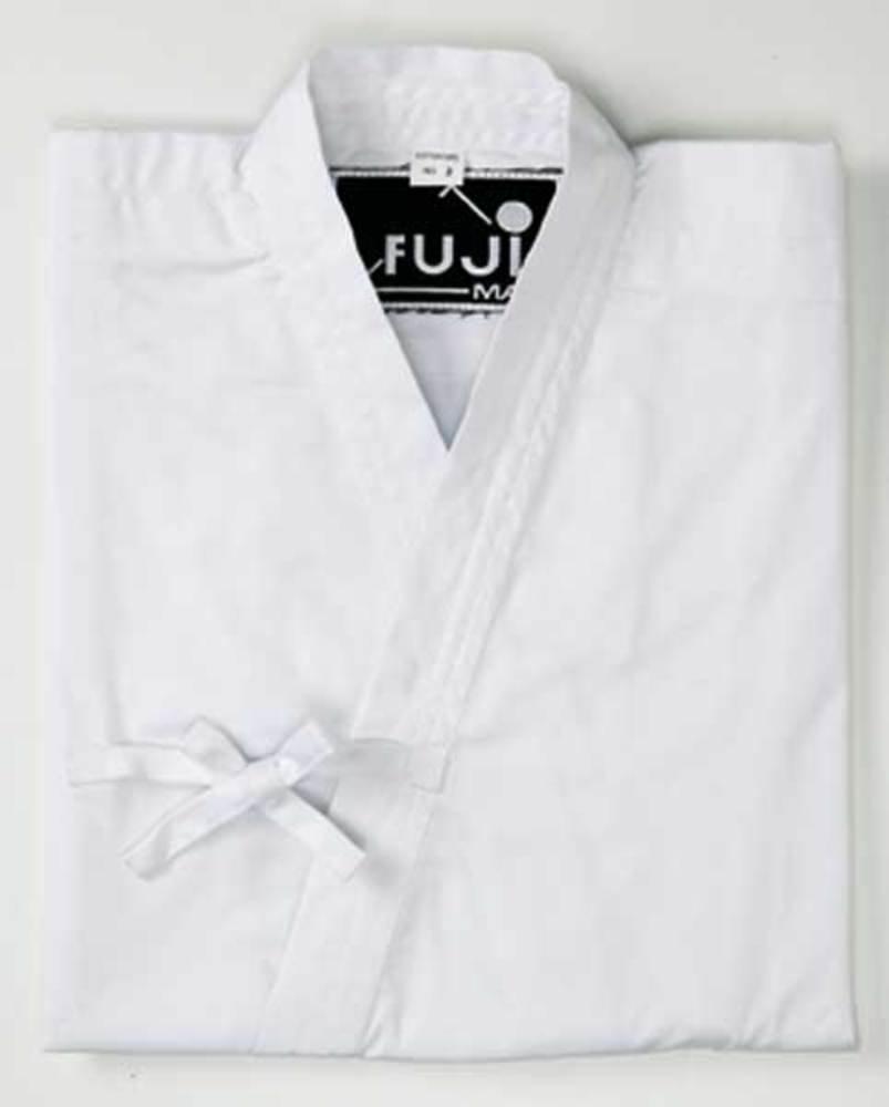 FujiMae - Chaqueta aikido Katz uragi, color Weiß, tamaño 200 ...