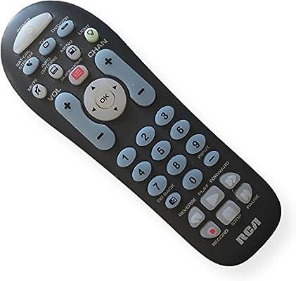 RCA rcr314wr Big botón mando a distancia universal, puede manejar hasta 3 dispositivos – Made para televisores,