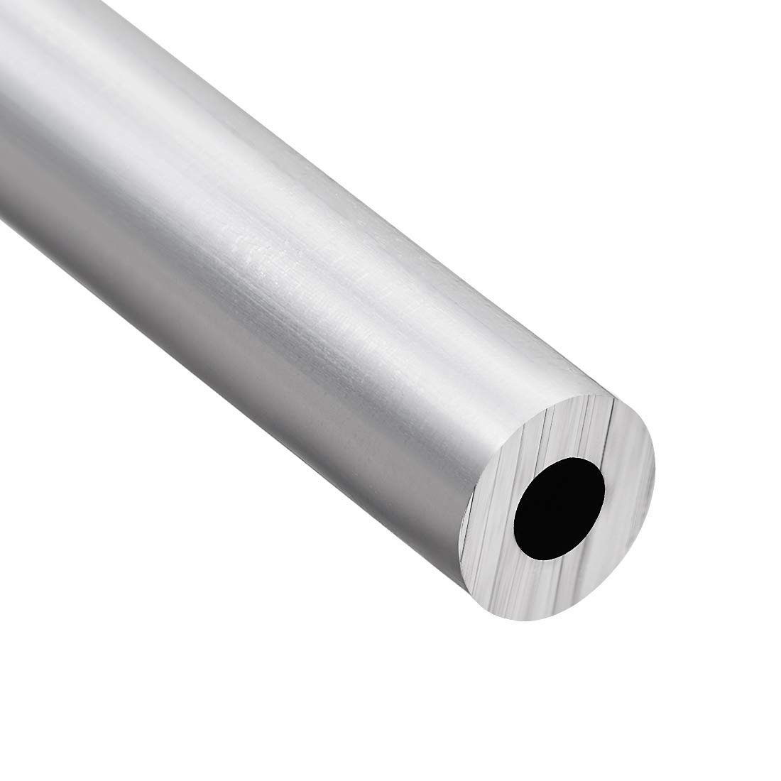 6063 Seamless Straight Round Aluminum Tube 1 feet in Length 0.195 inches ID 0.429 inches Outside Diameter