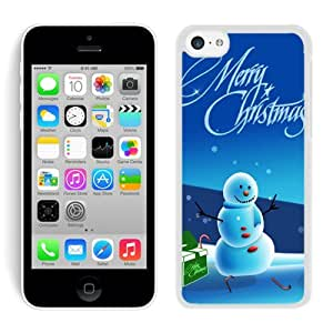 Hot Sell Iphone 5C TPU Case Christmas Snowman White iPhone 5C Case 19