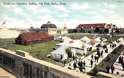 Postcard Textile Exposition Building Fair Park in Dallas, Texas~116000