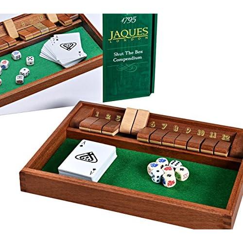 Luxury Shut The Box - Compendium des jeux Shut the Box - Jaques de Londres - Depuis 1795
